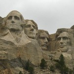 Mount Rushmore - it was smaller than I thought, but no less impressive.