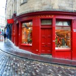 Christmas Shop, Edinburgh