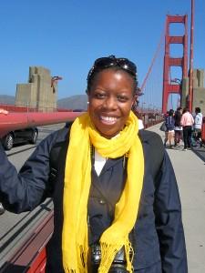 On the Golden Gate Bridge in San Francisco, California