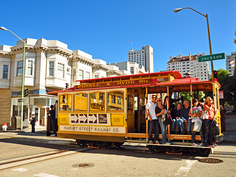 Powell Hyde Cable Car Wanderlust For One