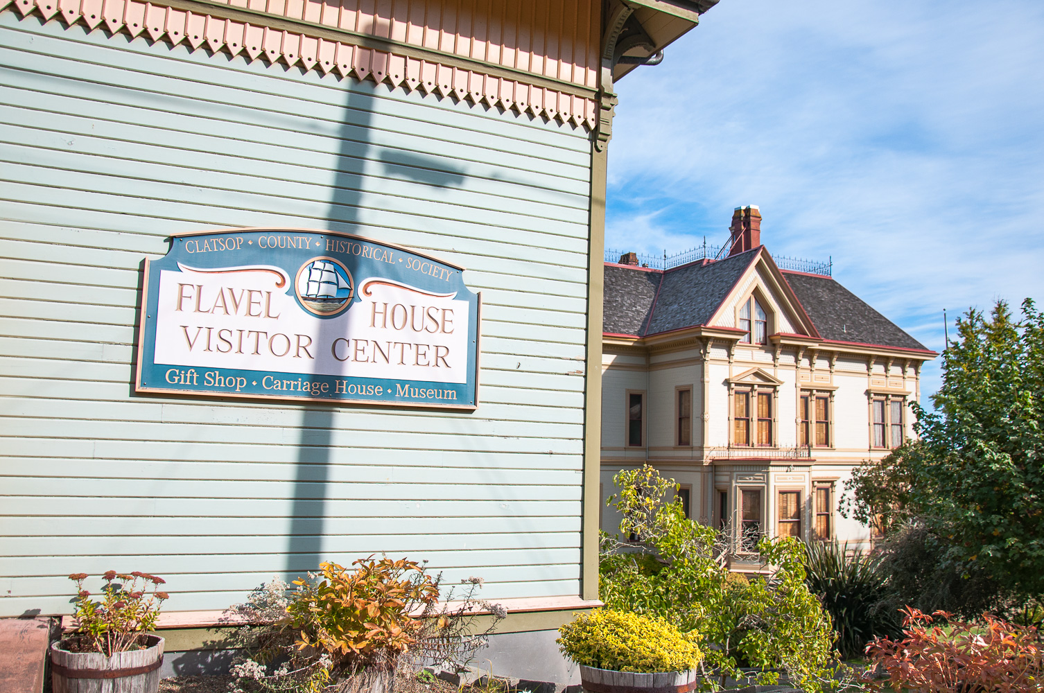 Flavel House and Visitor Center