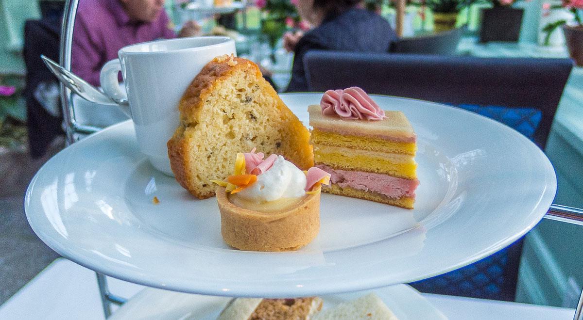High Tea at The Butchart Gardens