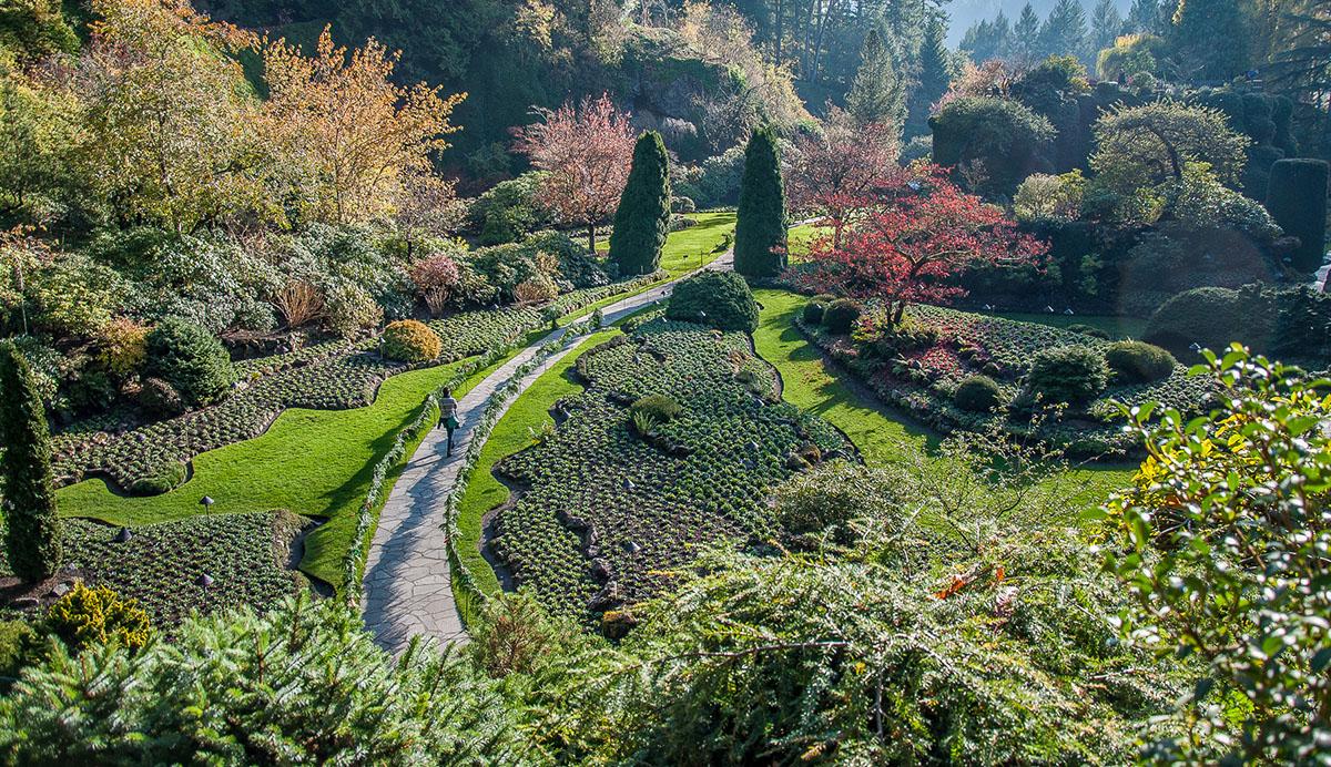 The Butchart Gardens, Victoria, B.C.